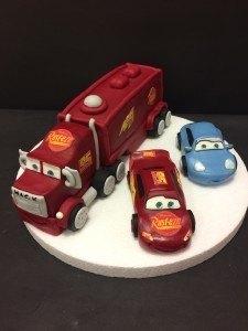 Modelado 3 figuras Cars